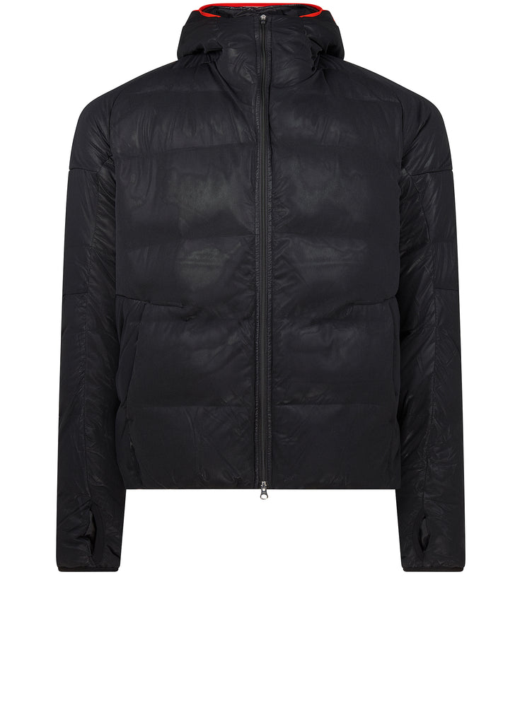 AW17 Hooded Down Jacket in Utility Black