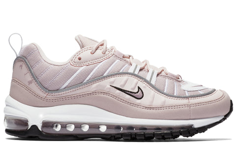 SS18 Air Max 98 W in Barely Rose/Silver/White
