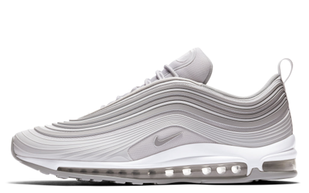 Air Max 97 Ultra '17 in Pure Platinum/Wolf Grey