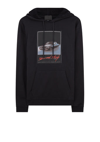 AW17 Slow and Steady Motif Sweatshirt in Black