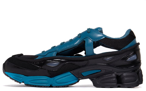 SS18 Replicant Ozweego in Core Black/Colonial Blue (BB7986)