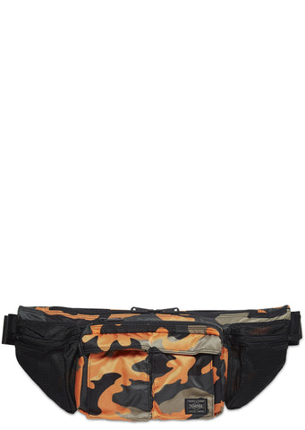 Camo Waist Bag in Orange