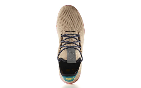 adidas x Pharrell Williams Tennis HU in Tan / Teal / Pink Marble (BY2672)