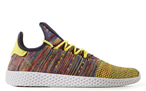 adidas x Pharrell Williams Tennis HU in Semi Frozen Yellow / Noble Ink / White (BY2673)