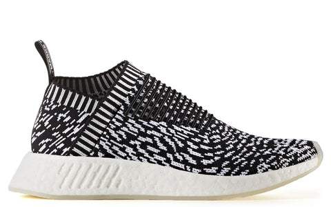 AW17 NMD_CS2 Primeknit in Black on White (BY3012)