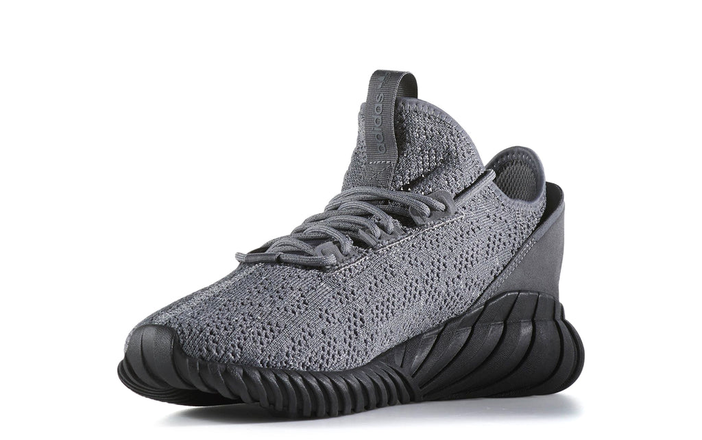 Tubular Doom Sock Primeknit Sneakers in Grey/Core Black