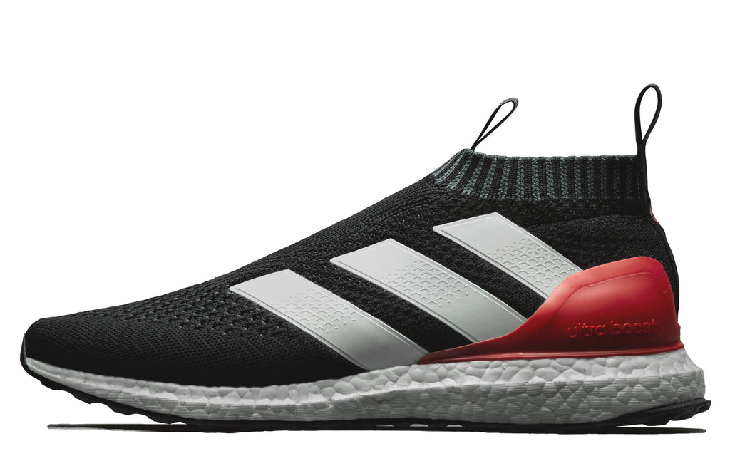 adidas 16+ Purecontrol Ultraboost in Core Black/ White/Red