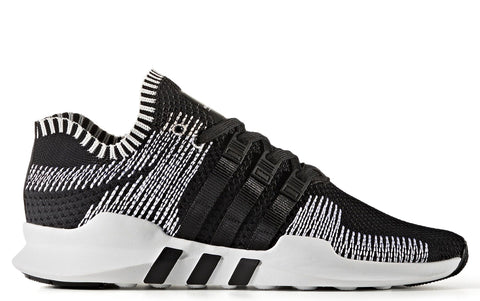 EQT Support ADV in Black on White with Zig Zags (BY9390)