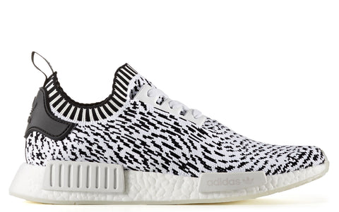 AW17 NMD_R1 Primeknit in Black on White (BZ0219)