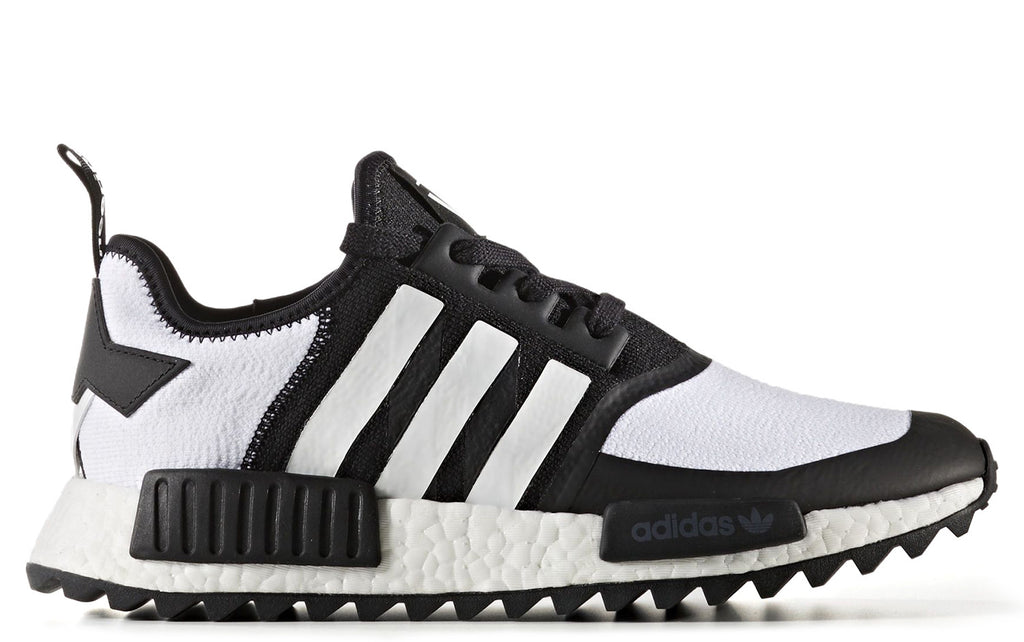 0ce26a34bb691 White Mountaineering x adidas NMD R1 Trail Primeknit in Core Black    Footwear White (CG3646