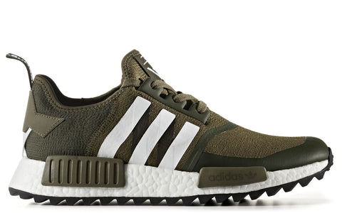 White Mountaineering x adidas NMD R1 Trail Primeknit in Trace Olive (CG3647)