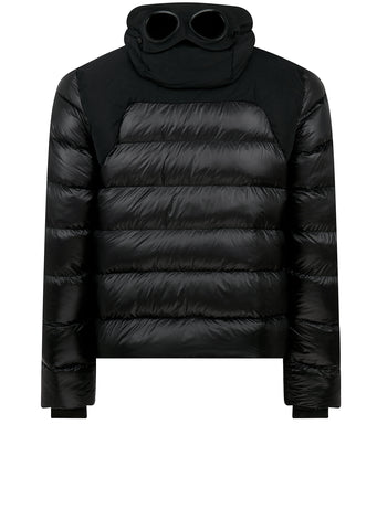 AW17 D.D. Shell Mixed Down Jacket in Black