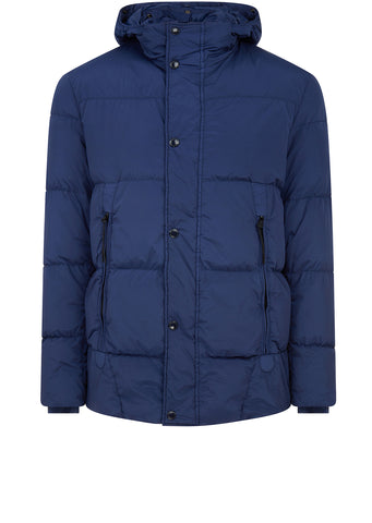 AW17 Goggle Nycra Down Jacket in Blue