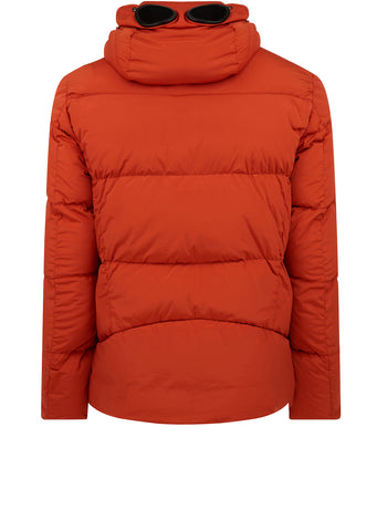 AW17 Goggle Nycra Down Jacket in Orange