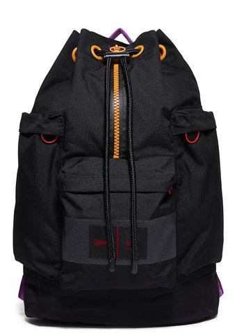 AW17 AMI Topload Backpack in Black (EK89C73R)