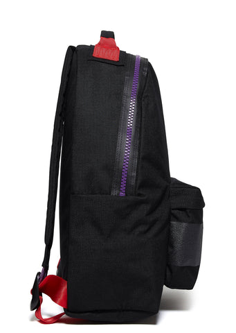 AW17 AMI Padded Rucksack in Black (EK90C73R)