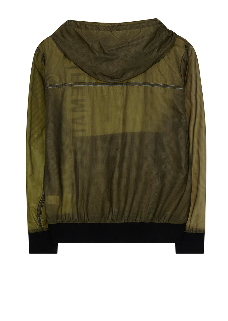 AW17 Remade Parachute Parka in Olive