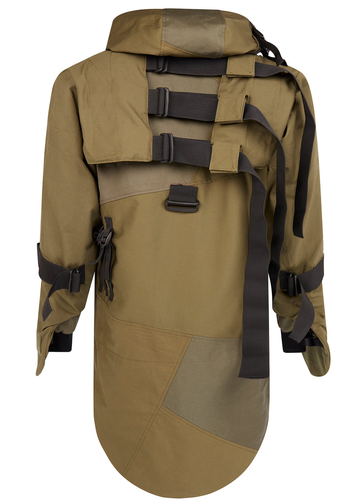 AW17 REMADE Parka Jacket in Khaki