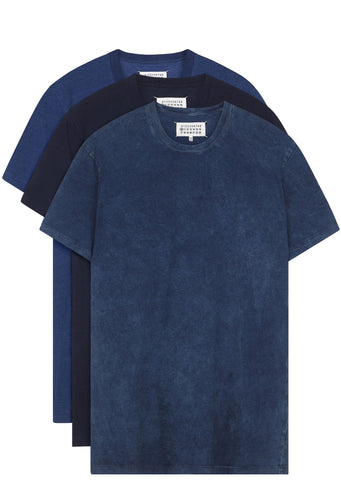 SS17 Triple Pack T-Shirts in Indigo