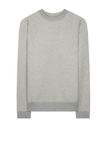 AW17 Crew Neck Sweat in Heather Grey