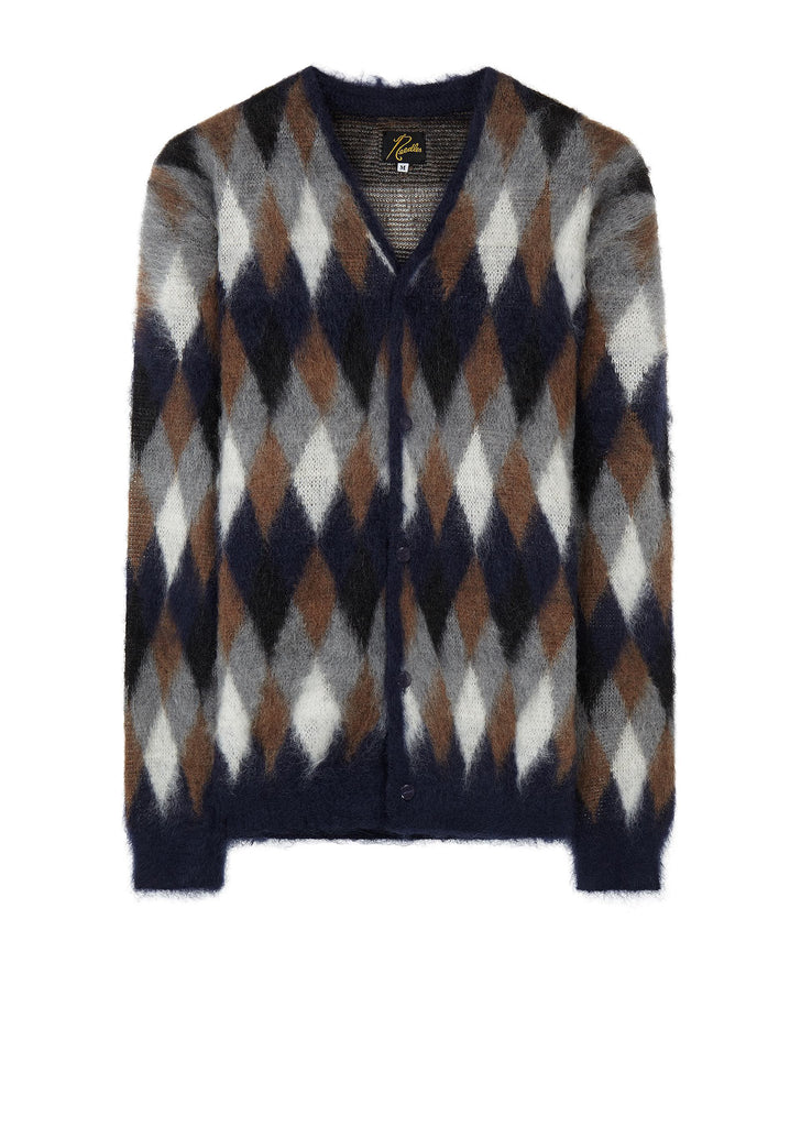 AW17 Mohair Cardigan in Navy