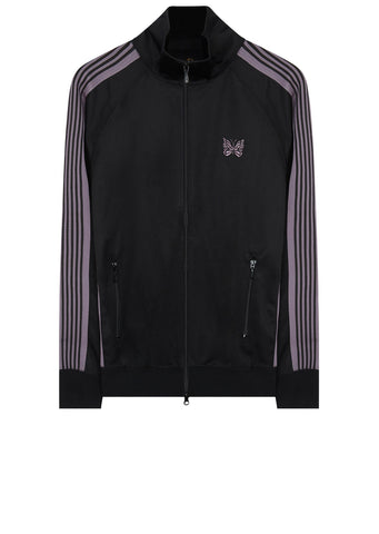 AW17 Poly Smooth Track Jacket in Black