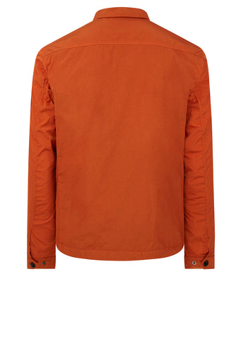 AW17 Nylon Lens Over Shirt in Orange