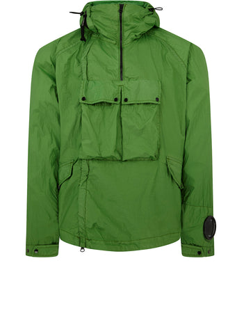 SS18 Double Zip Utility Jacket in Classic Green