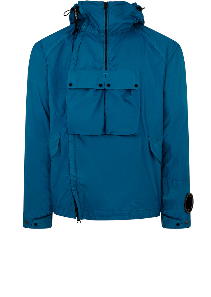Double Zip Utility Jacket in Hawaiian Ocean