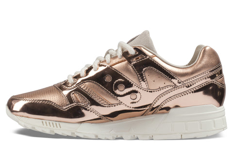 SS17 SD Grid Sneaker in Rose Gold