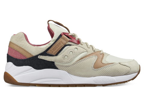 SS17 Liberty Pack Grid 9000 Sneaker in Tan