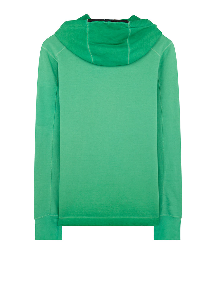 Re-Coloured Hoody in Green