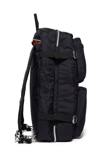 AW17 Travel Rucksack in Tailored Black