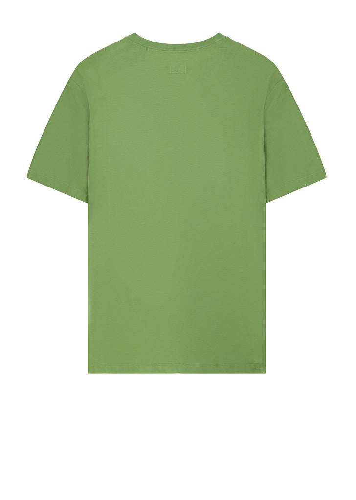 SS18 Label Print Logo T-shirt in Kiwi Green