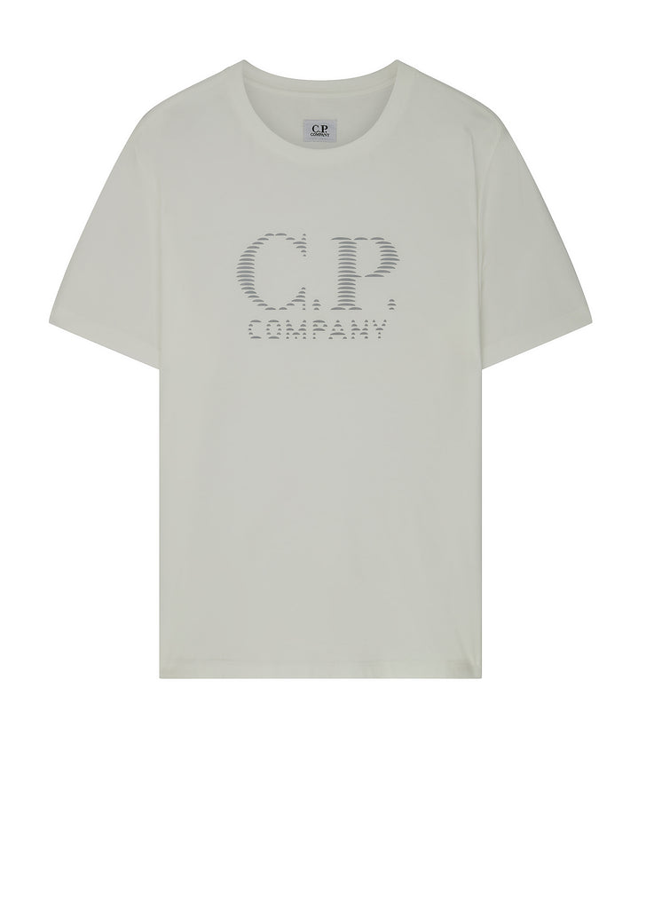 Short Sleeve Logo T-Shirt in White