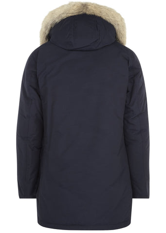 Arctic Parka DF in Melton Blue