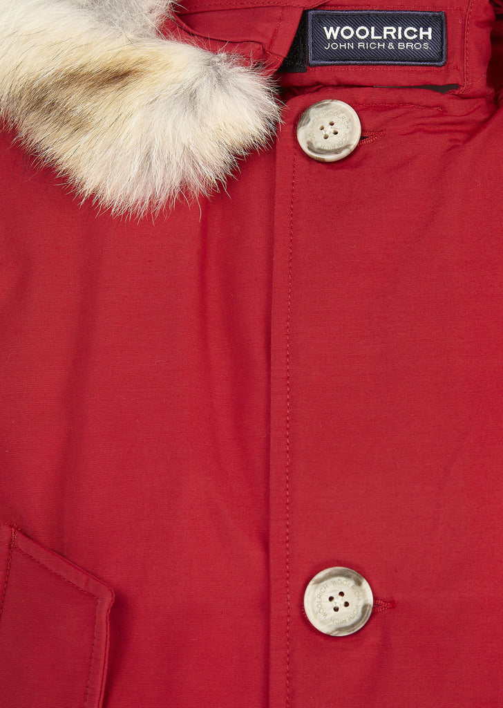 Arctic Parka DF in Red