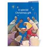 CAFOD World Gifts come in a lovely Christmas card for you to pass on to your recipient