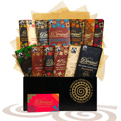 You can win a hamper filled with delicious Divine chocolate, thanks to Ecotricity