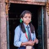Nirjala, a Nepalese schoolgirl is happy World Gifts has supported the rebuilding of her school