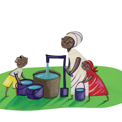 You can give clean, safe water to a family living in poverty with this charity gift