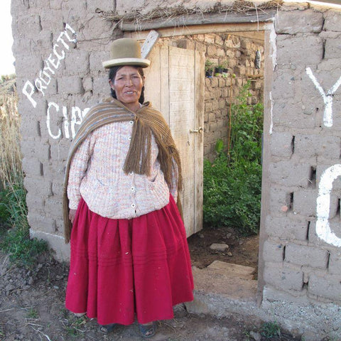 Joana's greenhouse means she can grow her own fruit and vegetables, thanks to CAFOD