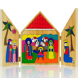 Beautiful hand crafted Nativity scene from El Salvador