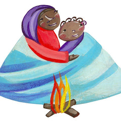 This ethical gift provides a family fleeing for their lives with blankets, food and fuel to get them through the winter.