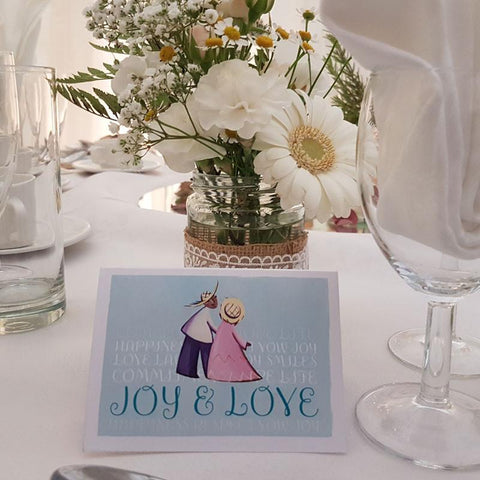 These favours are perfect for wedding tables