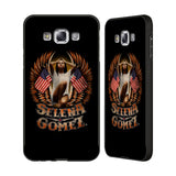 Official Selena Gomez Revival Black Aluminium Bumper Slider Case for Samsung Galaxy E7