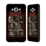 Official Slipknot Key Art Black Aluminium Bumper Slider Case for Samsung Galaxy E7