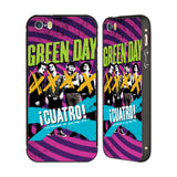 Official Green Day Key Art Black Aluminium Bumper Slider Case for Apple iPhone 5 / 5s / SE