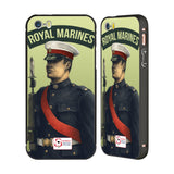 Support British Soldiers Sbs Official British Troops Black Aluminium Bumper Slider Case for Apple iPhone 5 / 5s / SE