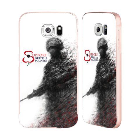Support British Soldiers Sbs Official Support British Soldiers SBS Official Gold Aluminium Bumper Slider Case for Samsung Galaxy S6